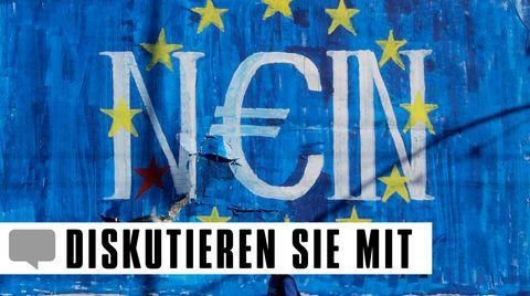 Griechenland-Krise: Die sechs Kugelfesseln an Tsipras Füßen