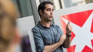 Kayvon Bekpour ist im Online-Newsroom des stern zu Gast