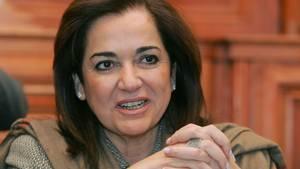 Dora Bakoyannis ist eine führende Politikerin der griechischen konservativen Partei Nea Demokratia
