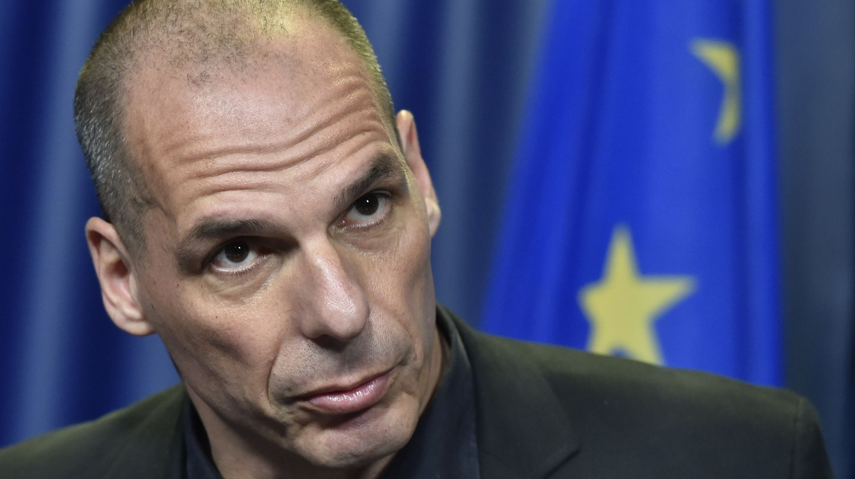 Der griechische Finanzminister Yanis Varoufakis