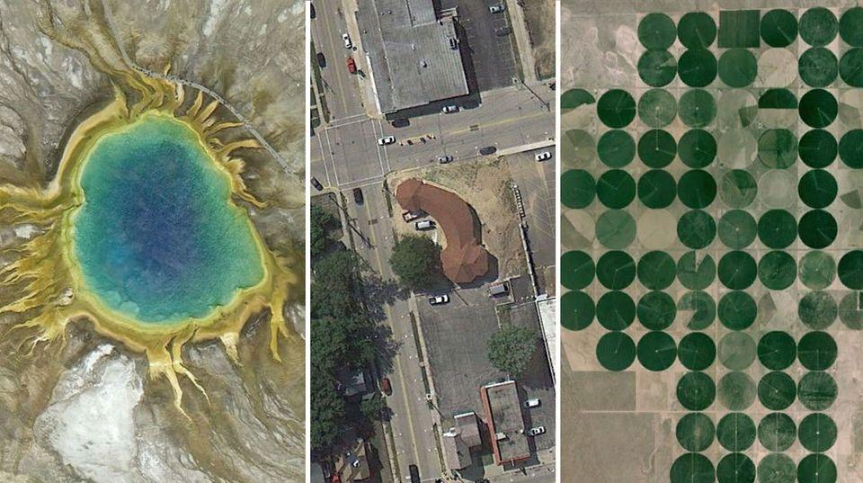 Google Earth: Das sind die kuriosesten Orte der Welt