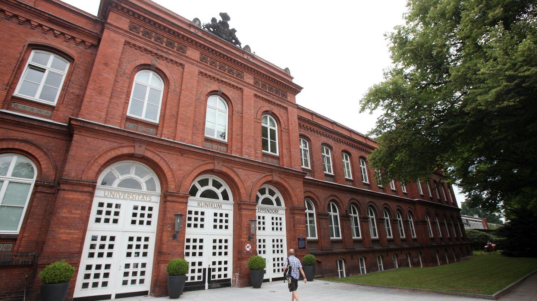 Das Universitätsklinikum in Eppendorf