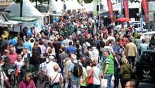 Dichtes Gedränge beim Tag der Niedersachsen in Hildesheim