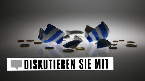 Crowdfunding-Idee für Schuldenkrise: Die Rettung Griechenlands kostet doch nur drei Euro