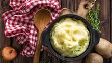 Kartoffelpüree: stampfen oder mixen?