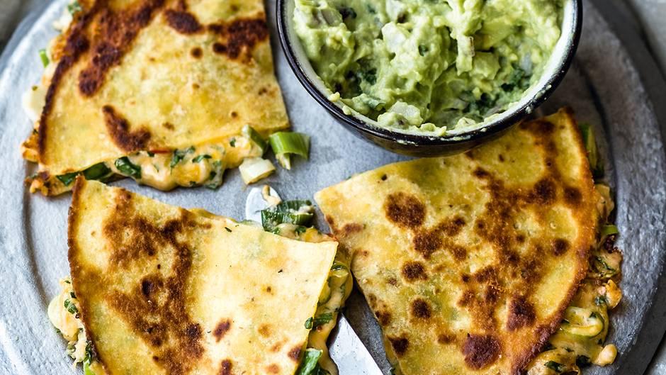Geniales Rezept für Quesadillas