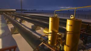 Eine russische Gaspipeline