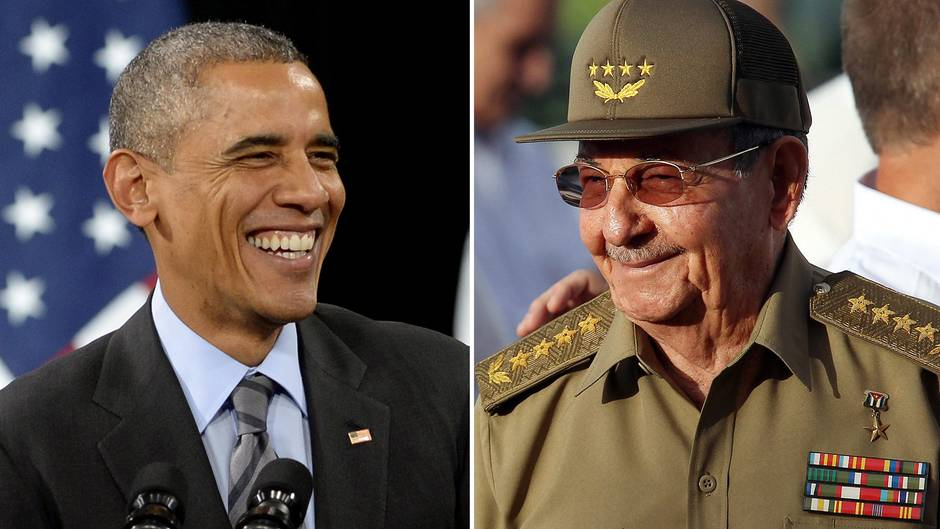 Obama und Castro nähern ihre Länder wieder an