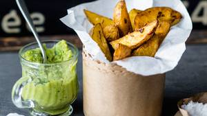 Rezept für knusprige Kartoffelecken