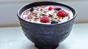 Ein Frühstück ohne Gluten und Zucker: Acaibeeren-Creme
