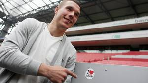 Fußballspieler Lukas Podolski