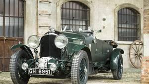 Bentley 4,5 Litre Supercharged - Blower von 1930