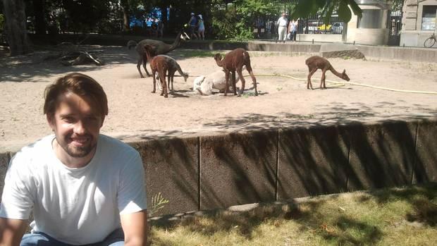 Hitze im Berliner Zoo