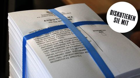Referendum zur Schuldenkrise: Was passiert, wenn die Griechen mit Ja stimmen? Und was, wenn mit Nein?