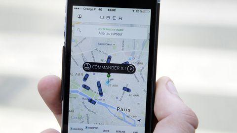 Uber stellt seine Smartphone-App vorerst ein