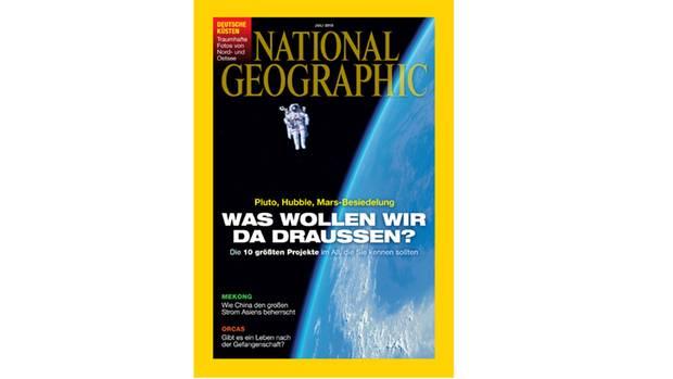"""Die neue Ausgabe von """"National Geopgraphic"""""""
