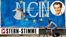 Die Griechen haben mit Nein gestimmt, die Idee eines einigen Europas hat Schaden genommen
