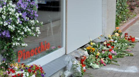 In diese Eisdiele in Bremervörde raste ein Auto und tötete ein Mann und ein Kleinkind