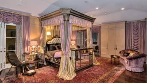 Schlafzimmer im Gothic-Schick