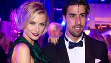 Model Lena Gercke and Fußballer Sami Khedira