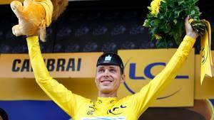 Tony Martin hat nach der vierten Etappe das Gelbe Trikot erobert