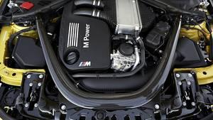 BMW M4 Coupé - das Triebwerk leistet 431 PS und ermöglicht so 280 km/h