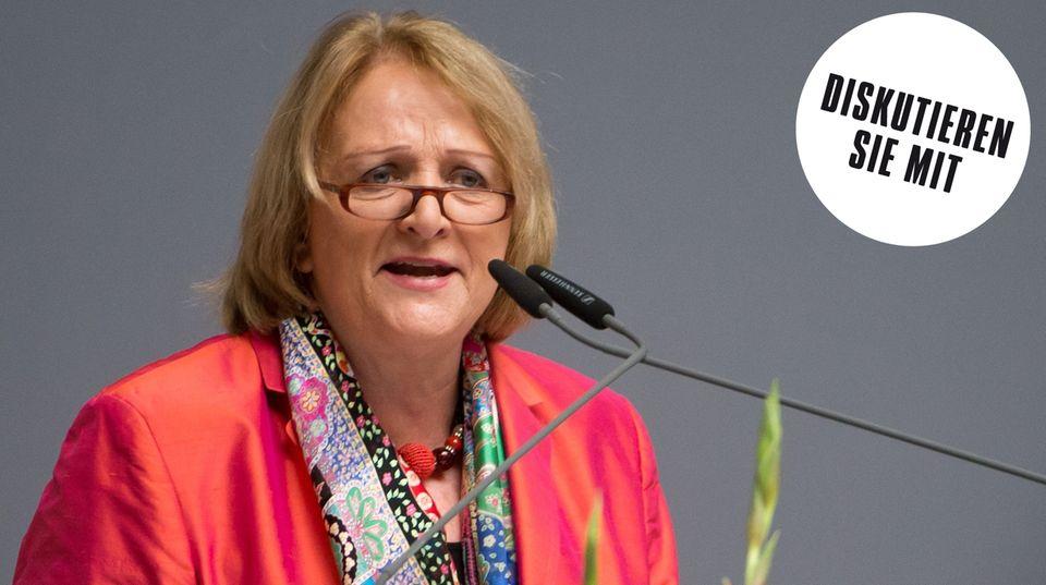 Die ehemalige FDP-Politikerin Leuheusser-Schnarrenberger im Interview mit dem stern