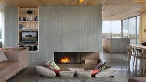 Das grau-braune Interieur ist schlicht, aber hübsch gestaltet.