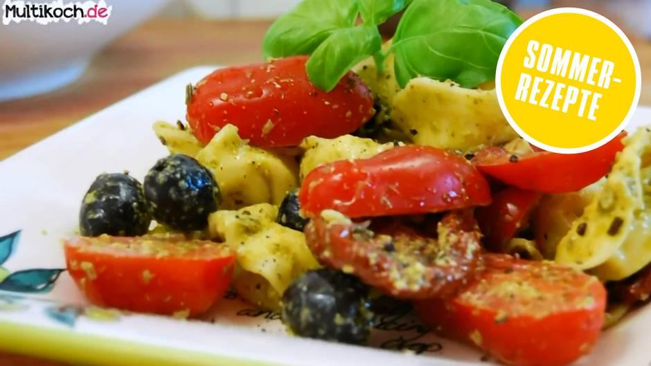 Sommerrezepte der Foodtuber: Fantastischer Tortellini-Pesto-Salat zum Selbermachen