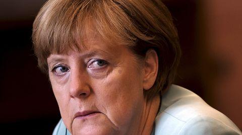 Kritik an Kanzlerin Angela Merkel kommt von den Grünen