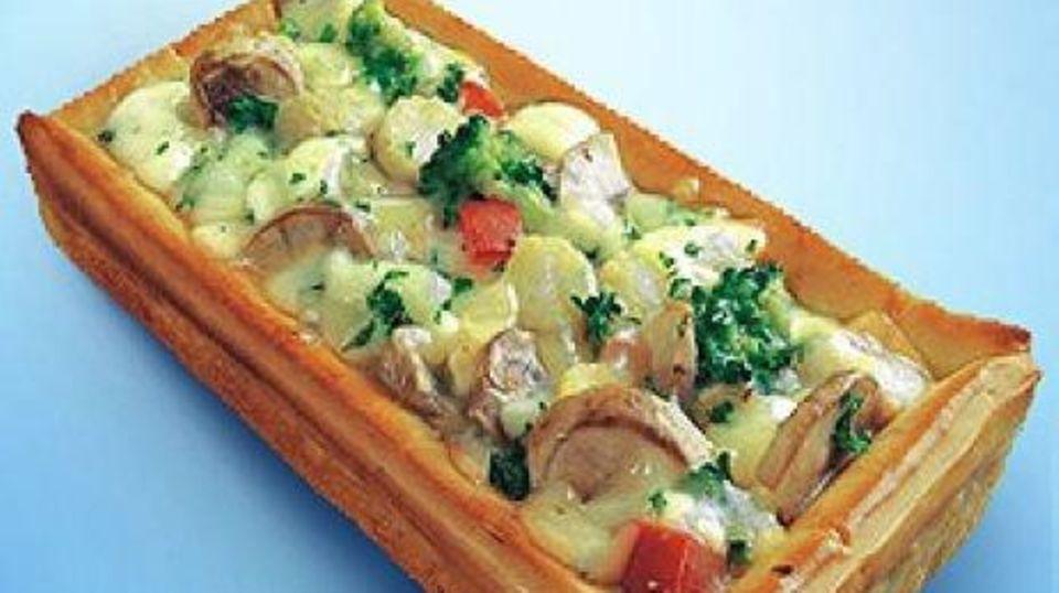 Gemüsepfanne mit Curry