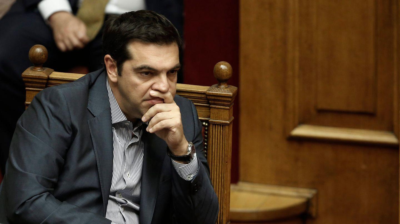 Alexis Tsipras während einer Abstimmung im griechischen Parlament