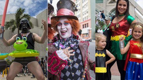 Comic Con in San Diego: Schaulauf der Superhelden und Oberschurken