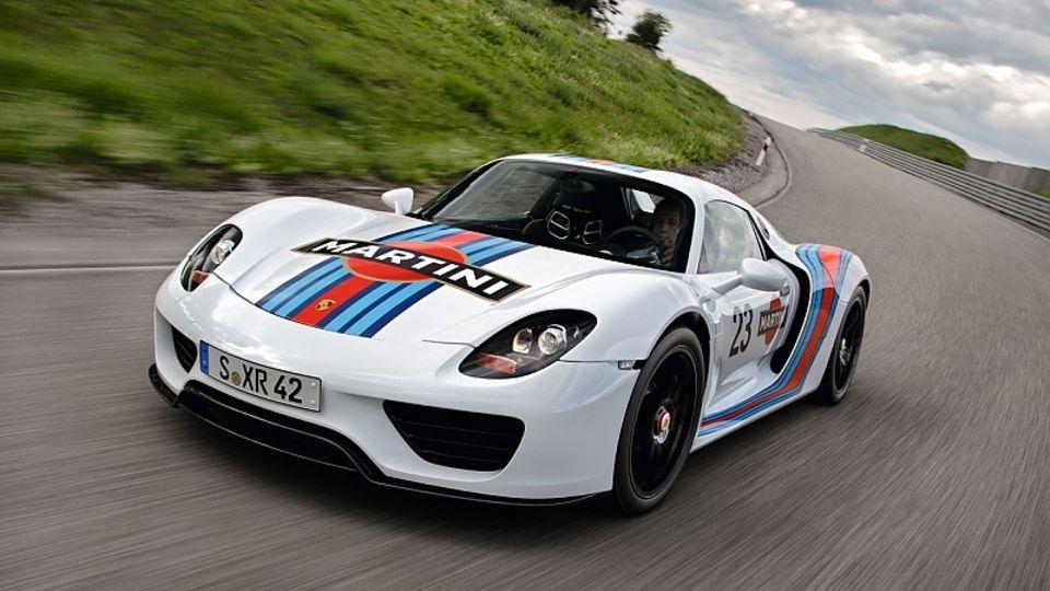 Der Porsche 918 Spyder reizt die Reserven der Batterie mehr aus