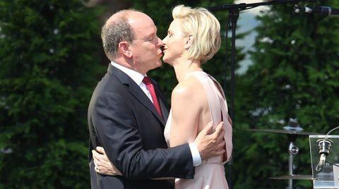 Charlène und Albert