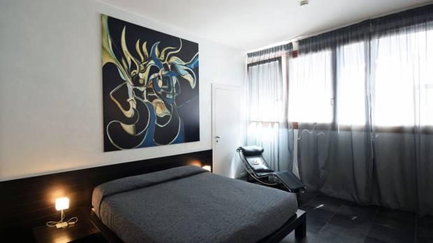 Zimmer mit  Corbusier-Liege