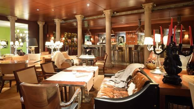 Im Restaurant des PalazzinaG