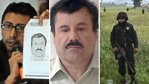 Der mexikanische Drogenboss Joaquin Guzman ist auf der Flucht