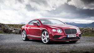 Bentley Continental GT Speed Modelljahr 2016 - imposanter Auftritt