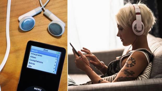 Vor 20 Jahren wurde das MP3-Format erfunden. Mit Apples iPod kam der weltweite Durchbruch.