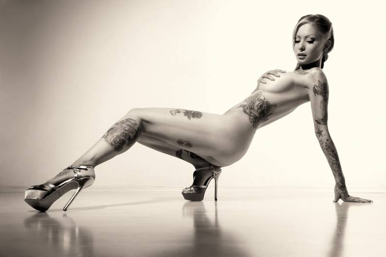Tattoos in erotischen Orten