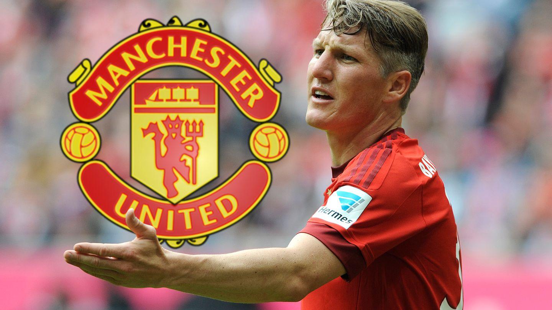 Bastian Schweinsteiger geht das Kapitel Manchester United gut gelaunt an