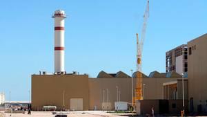 Atomkraftwerk im südiranischen Bushehr