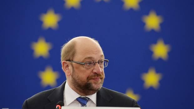 Martin Schulz sieht Europa in einer schweren Krise