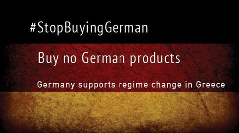Auf Twitter wird  zum Boykott gegen deutsche Produkte aufgerufen