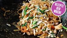 Pad Thai im Wok