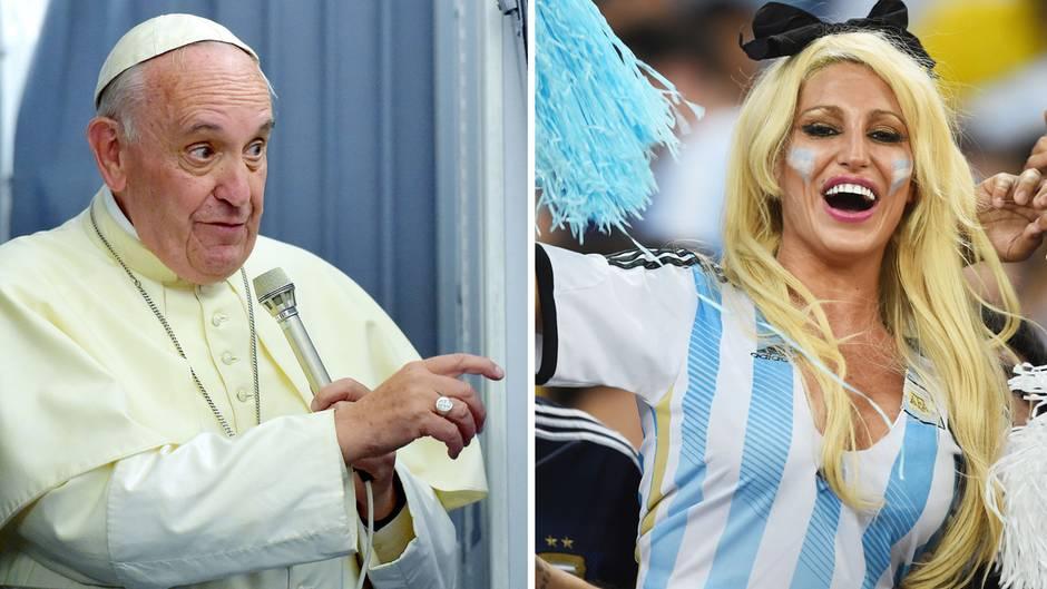 Leider kam es nicht zur Begegnung von Papst undVictoria Xipolitakis.