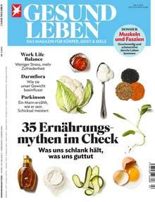 Das neue Heft von Gesund Leben, ab jetzt am Kiosk erhältlich