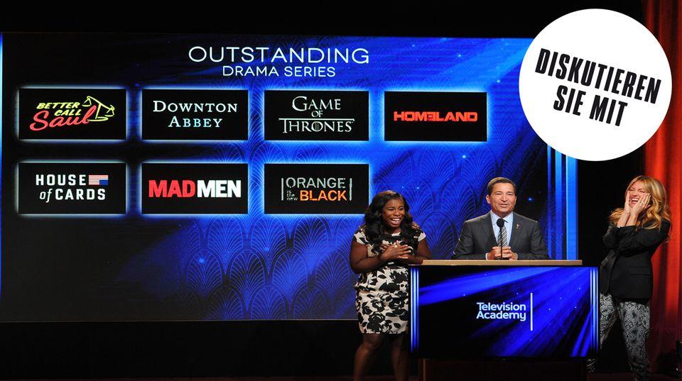 """Die Serie """"Game of Thrones"""" ist insgesamt 24 mal für einen Emmy nominiert, darunter auch als herausragende Dramaserie"""