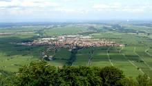 """Edenkoben  """"Die Landschaft, die Leute, der Haardtrand, die Pfalz - ich bin kein Pfälzer, aber seit ein paar Jahren hier ansässig - und wenn ich etwa von der anderen Seite des Rheins komme und ab Speyer so langsam auf den Haardtrand zufahre, die Antennen auf dem Weinbiet oder der Kalmit sehe, mir das Friedensdenkmal und die Villa Ludwigshöhe entgegen leuchten, dann habe ich das Gefühl von Heimat und freue mich."""" User kaefer572      Edenkoben auf der Karte der Lokalpatrioten."""